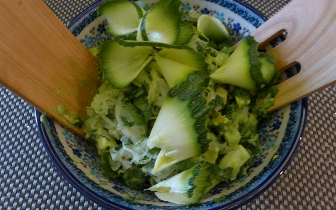 Recette de Salade d'hiver – Salade trop chou !
