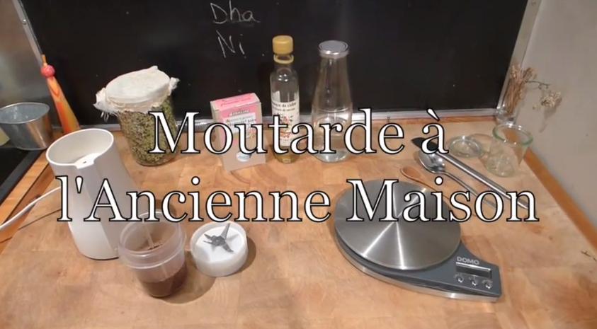 Moutarde à l'ancienne maison – simple et rapide à préparer