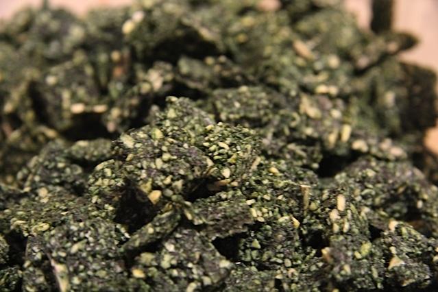 Croûtons verts sans cuisson