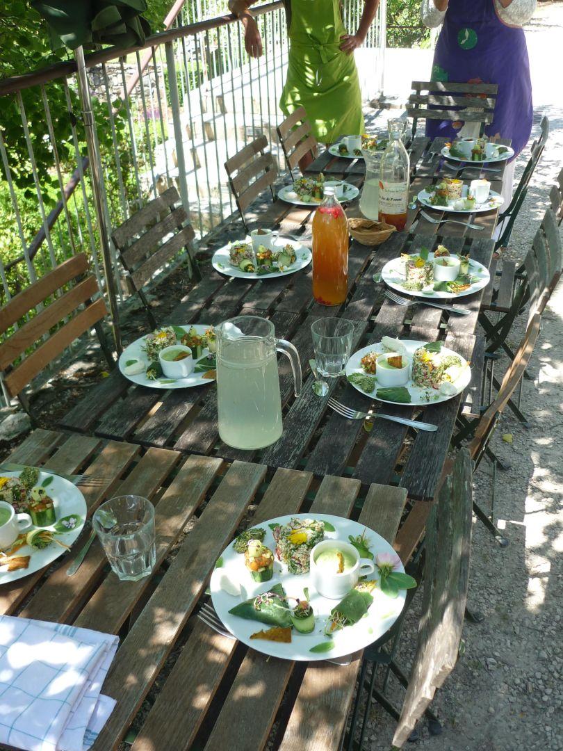 Les secrets de la cuisine crue stage à Terre Vivante