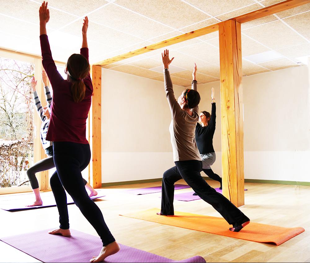 """Stage de Yoga """"célébrer l'été"""" à Terre Vivante"""